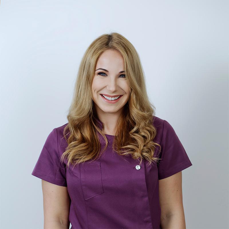 Gydytoja odontologe Jolanta Leskeviciute